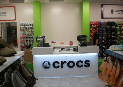 Crocs – Multiple Locations…