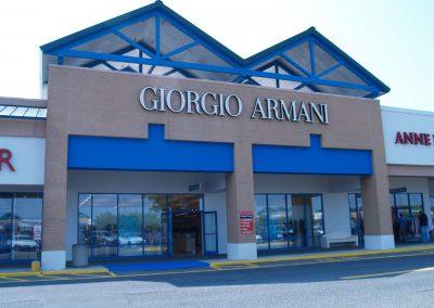 Georgio Armani – Tanger Outlets, NY