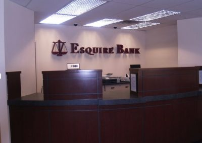 Esquire Bank – Multiple Locations…